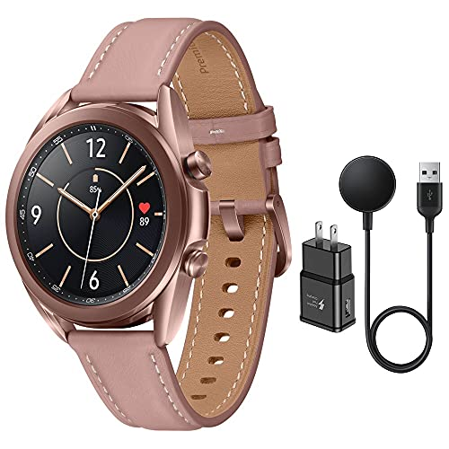 Samsung Galaxy Watch 3 Stainless Steel (41mm) SpO2 Oxygen, Sleep, GPS Sports + Fitness Smartwatch, IP68 Water Resistant…