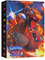 JOYUE Pokemon Kaartenhouder Album, Pokemon Binder voor Kaarten, Kaarten Album Book, Pokemon Card Protector Sleeves,...