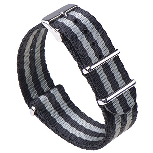 Gemony Nato Strap Premium Ballistic Nylon Watch Band, Larghezza di banda 18mm 20mm 22mm,WB-129
