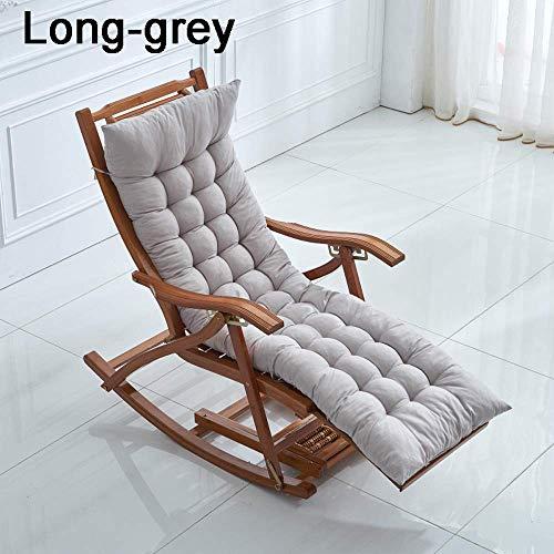 GLF Tumbonas Cojines para el Sol Cojines con Respaldo Alto Cojines para sillas de Exterior Sillones y sillones reclinables de jardín Protección UV & egrave;Super cómodo, Grueso y Delgado