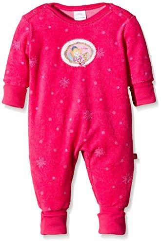 Schiesser Prinzessin Lillifee Baby Anzug mit Vario Ensemble de Pyjama, Rouge - Rot (Pink 504), 56 Bébé Fille