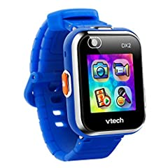Two cameras allow you to take video and selfies that can be customized and made into new watch faces Helps kids learn to tell time and has 55 digital and analog clock faces that they can customize New Monster Catcher game creates an augmented reality...