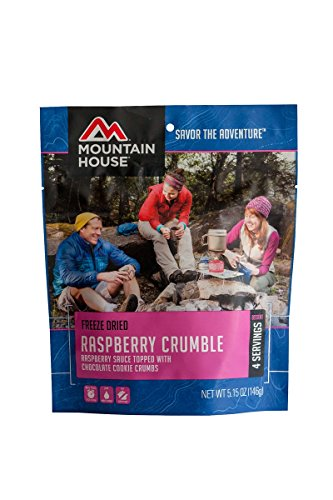 Mountain House Raspberry Crumble, Pouch