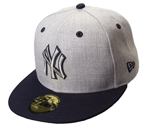 Casquette New York Yankees 59Fifty Cap | MENS Heather Top | Taille: 7