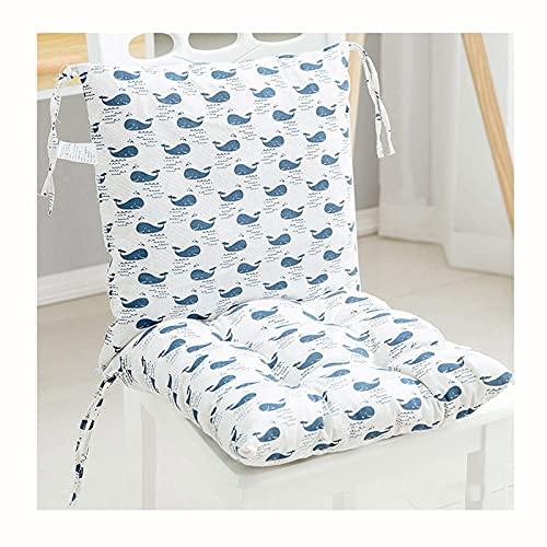 Chair Cushion Back Cushion Seat Cushions - Home Cotton Chair Cushions Sofa Cotton Thick Cushion Bedroom Warm Dining Chair Printed Cushions Chair Home Decorative Cushion Comfortable Durable