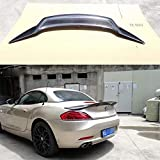 AniFM Spoiler per Baule Posteriore in Fibra di Carbonio per BMW Z4 E89 Coupe Car Decoration Car Modifica 18i 20i 23i 28i 30i 35i 2009-2014