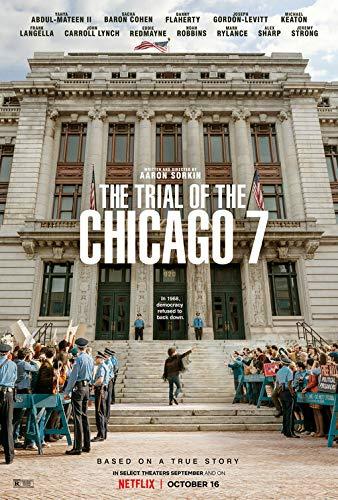 映画ポスター The Trial of the Chicago 7 (2020)シカゴ7裁判(2020) テーマポスター A3サイズ [インテリア 壁紙用] 絵画 アート 壁紙ポスター