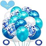 JWTOYZ 72 Stück Luftballons Grün
