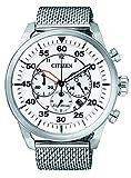 Citizen–Orologio da uomo, Cronografo, Quarzo, Acciaio Inossidabile CA4210–59A