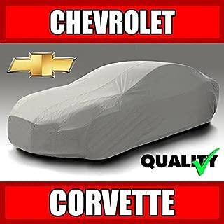 autopartsmarket Chevy Corvette 1991 1992 1993 1994 1995 1996 Ultimate Waterproof Custom-Fit Car Cover