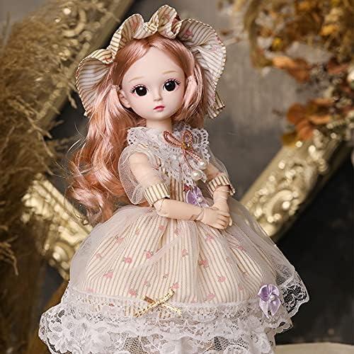 Max 85% OFF Tgnk 30cm Charlotte Mall 1 6 BJD Detachable Joint Doll Surprise DIY