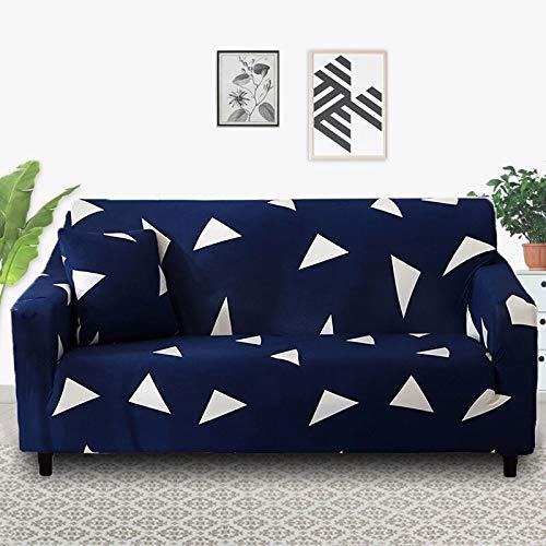 Fundas de sofá elásticas a cuadros para sala de estar, protector de muebles antideslizante, calidad duradera, resistente a las arrugas A13 de 2 plazas