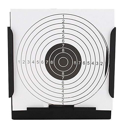 Zer one Airsoft Target Holder, Air Rifle Pistola Bullet Airgun Disparos de práctica Objetivos Air Rifle Pellet Trap Shooting Airsoft
