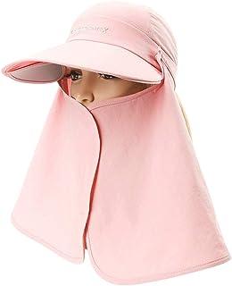 Jian E- Sombrero - Sombrero Facial para el Verano para la Mujer Protección Facial para el Cuello al Aire Libre Sombrero para el Sol Sombrero Multifuncional Multifuncional para vehículos eléctricos UV