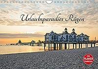 Urlaubsparadies Ruegen (Wandkalender 2022 DIN A4 quer): Traumhafte Fotografien der schoenen Ostseeinsel Ruegen (Geburtstagskalender, 14 Seiten )