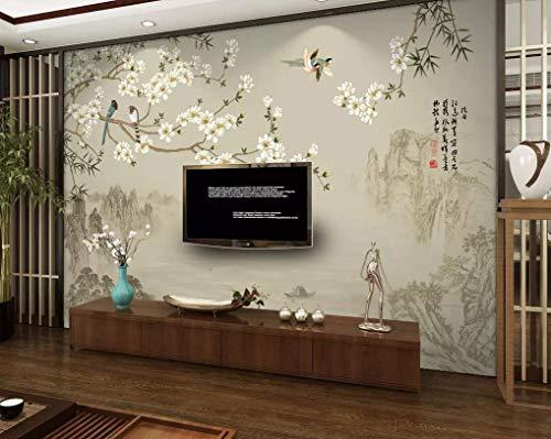 HONGYUANZHANG Einfache Naturlandschaft Benutzerdefinierte 3D Fototapete Künstlerische Landschaft Tv Hintergrundbild,140Inch (H) X 172Inch (W)