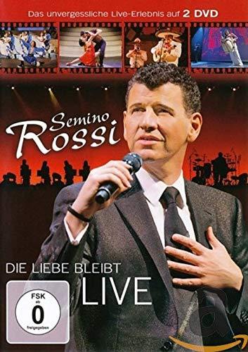 Semino Rossi - Die Liebe bleibt (Live) (2DVD)