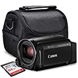 Canon Vixia HF R800 HD Camcorder (Black) Deluxe Bundle W/Camcorder...