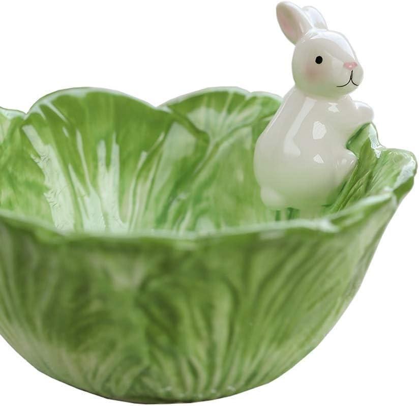 ZUQIEE Bowl Cartoon Directly managed store Animal Finally popular brand Shape Ceramic Soup Cute Storage