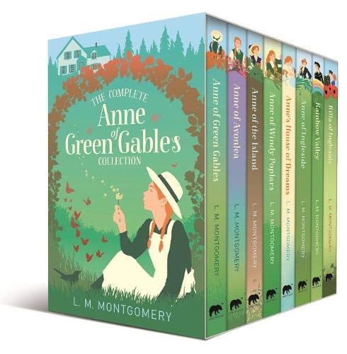 The Complete Anne of Green Gables Collection 8 Books Box Set by L. M. Montgomery (Anne of Green Gables, Avonlea, Island, Windy Poplars, House of Dreams, Ingleside, Rainbow Valley & Rilla of Ingleside)
