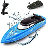 SZJJX 2 in 1 RC Boat, Remote...