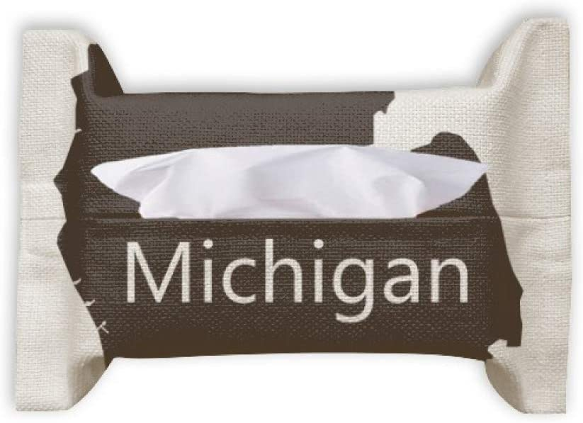 Michigan America Low price USA Map Silhouette Ba Facial Tissue Popular products Towel Paper