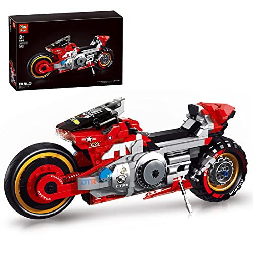 SESAY Juego de construcción de bloques de construcción para moto Cyberpunk 2077, 668 piezas, modelo de carreras, compatible con la técnica Lego.