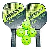 yotijar El juego de palas para Pickleball incluye 2 raquetas de Pickleball ligeras 4