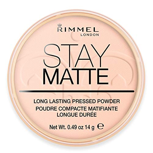 Rimmel London Stay mat poeder roze Blossom 002, 14 g