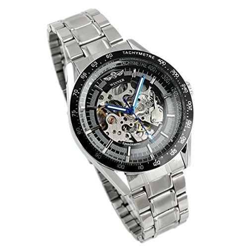 ESS - Herrenuhr - Automatik Uhr - Edelstahl Armbanduhr - silbern - WM174 (UVP: 47,00 EURO)