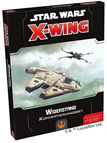 Asmodee Star Wars: X-Wing 2.Ed. - Widerstand Konvertierungsset, Erweiterung, Tabletop, Deutsch