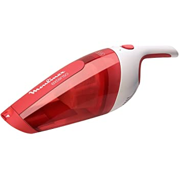 Moulinex MX232301 Aspirador sin bolsa, 3.6 V, 0.3 litros, color rojo: Amazon.es: Hogar