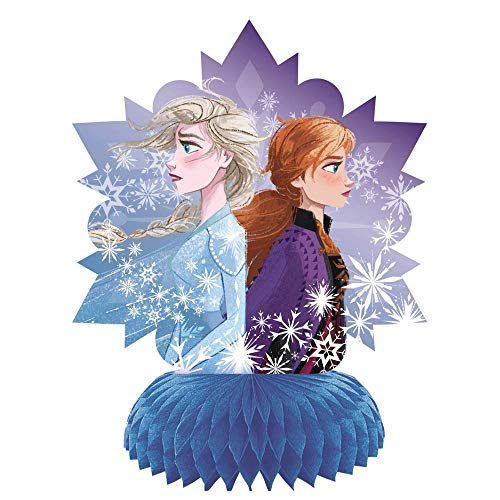 "Frozen 2 Children's Birthday Party Decorations Includes 7 Piece Decoration Kit and 1 Large Jointed ""Happy Birthday"" Banner"
