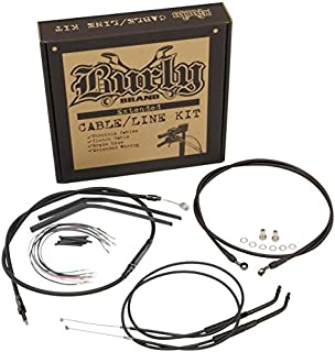 Burly Handlebar Installation Kit for 14 Inch Height Ape Hanger Handlebar - Harley Davidson XL 1997-2003 - B30-1000