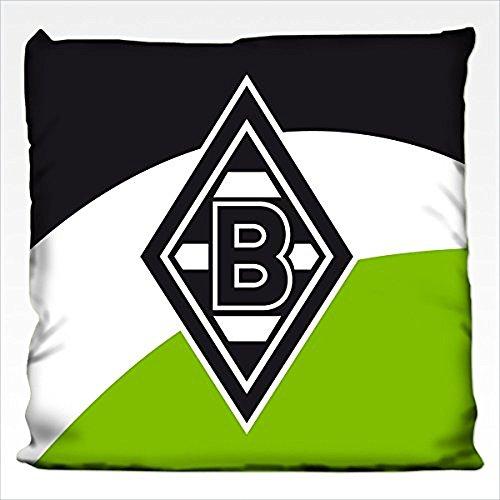 Borussia Mönchengladbach Bertels 1/051411 Kissen Schrägstreifen 38x38 cm