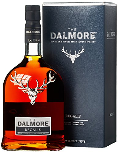 Dalmore Regalis Frist Fill Amoroso Sherry Cask mit Geschenkverpackung Whisky (1 x 1 l)
