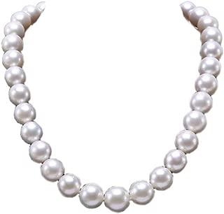 Nouveau Charleston Années 80 Femmes Blanc Goutte Perle Collier Perle Chaîne Corde Perles Style
