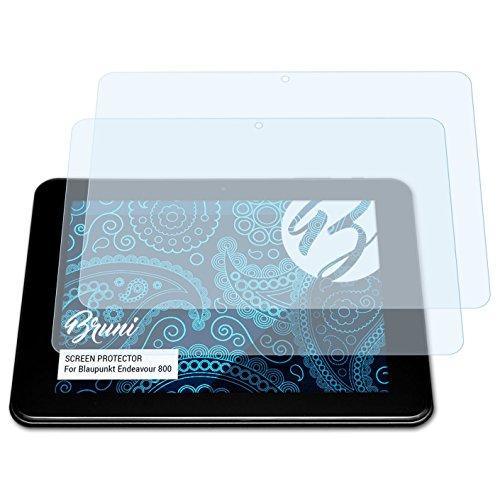Bruni Schutzfolie kompatibel mit Blaupunkt Endeavour 800 Folie, glasklare Bildschirmschutzfolie (2X)