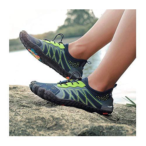 HaoLin Escalada Trekking Calzado Deportivo Hombres Mujeres Ciclismo Senderismo Zapatos Antideslizantes Planos...