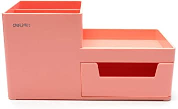 LJBH Office Supplies, Desktop Storage And Storage Manager, Cosmetics Storage, Stationery Storage Box Pen holder, makeup st...