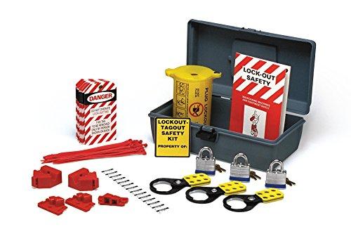 Brady - LKX Economy Electrical Lockout Toolbox Kit - 45618