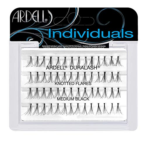 Ardell Duralash Individual Flare Medium Eye Lashes, Black by Ardell