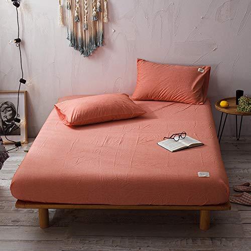 CYYyang Unterbett Soft-Matratzen-Topper, Matratzenschutz Boxspring-Betten geeignet Baumwollbettlaken einteilig staubdicht-17_150X200cm