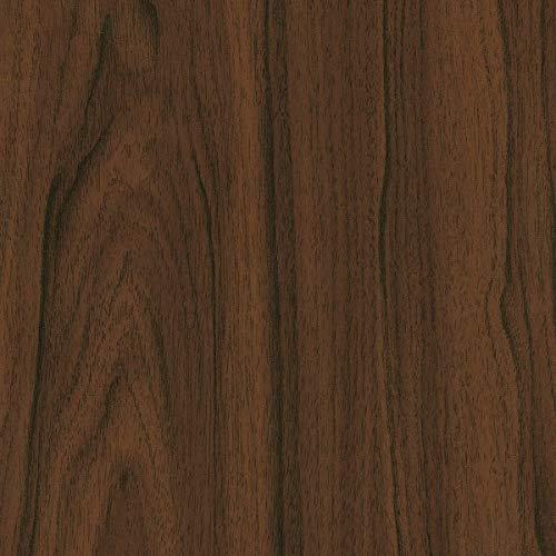 [19,98€/m²] Selbstklebende Folie in Holz-Optik AUF WUNSCHMAß inkl. Rakel & eBook mit Profi-Tipps I Klebefolie Walnuss Holzdekor für Möbel & Küche – abwaschbar & hitzebeständig I Möbelfolie Holz braun