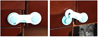Cute Blue Safety Refrigerator Door Lock For Kids Baby And Child