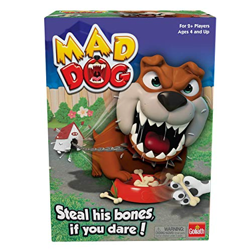 Mad Dog Game by Goliath - Steal His Bones If You Dare - But Don't Wake Him Up, Multicolor, 5""""""
