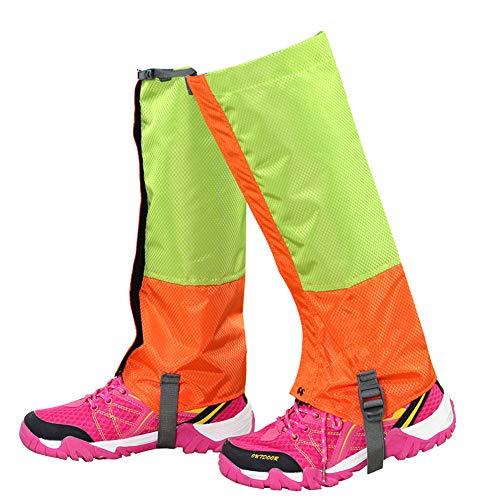 Couvre-chaussures de cyclisme Guêtres Imperméables De Randonnée Durables Legging Gaiter Respirant Couvre-Jambe Haute for Enfants for Trekking En Montagne Ski Marche Escalade Chasse Protecteur de vélo