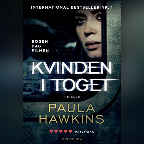 Kvinden i toget audiobook cover art