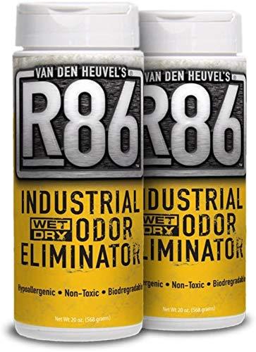 Organic Alternatives, LLC Van Den Heuvels R86 Industrial Odor Eliminator, All Purpose Odor Neutralizer, Ideal for Skunk and Pet Odor, Non-Toxic and Hypoallergenic, 2 Pack