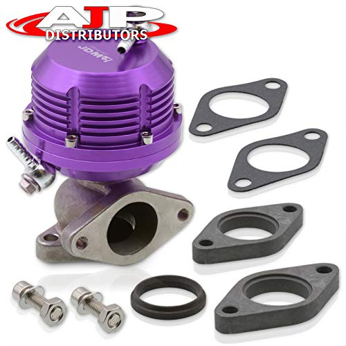 Universal Wastegate External 35mm 38mm Exhaust Manifold 2 Bolt Flange Mount Jdm Aluminum PURPLE